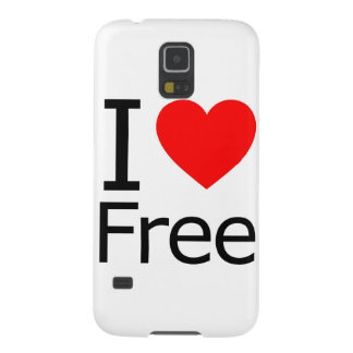 I Love Free Galaxy S5 Cover