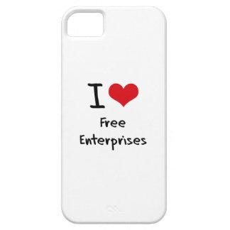 I Love Free Enterprises iPhone 5 Covers