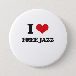 I Love FREE JAZZ Button