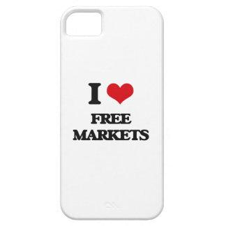 i LOVE fREE mARKETS iPhone 5 Case