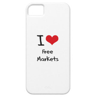 I Love Free Markets iPhone 5 Cases