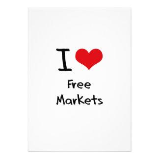 I Love Free Markets Invite