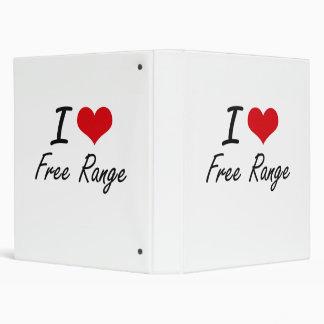 I love Free Range 3 Ring Binders