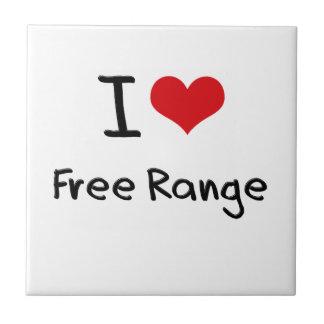 I Love Free Range Ceramic Tiles