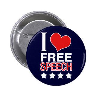 I love free speech button