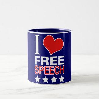 I love free speech coffee mugs