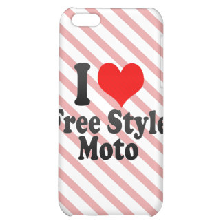 I love Free Style Moto iPhone 5C Covers