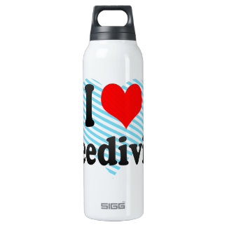 I love Freediving 16 Oz Insulated SIGG Thermos Water Bottle