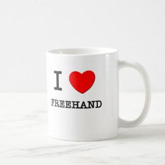 I Love Freehand Mug