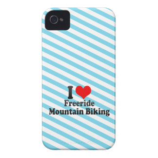 I love Freeride Mountain Biking Case-Mate iPhone 4 Cases