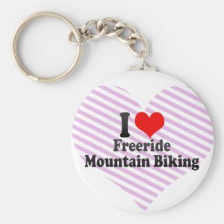 I love Freeride Mountain Biking Keychains