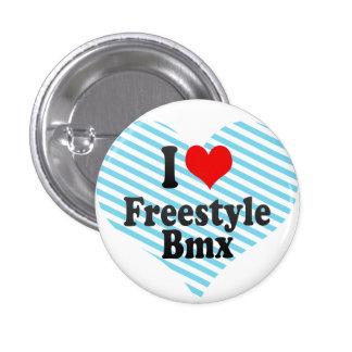 I love Freestyle Bmx Button