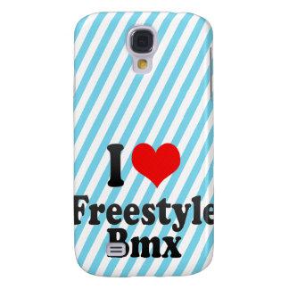 I love Freestyle Bmx Galaxy S4 Cases