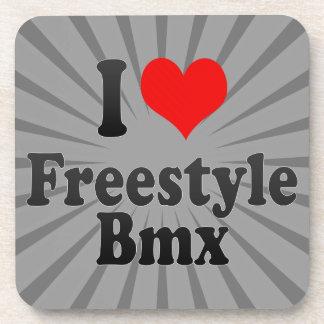 I love Freestyle Bmx Beverage Coasters