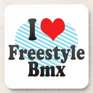 I love Freestyle Bmx Beverage Coaster