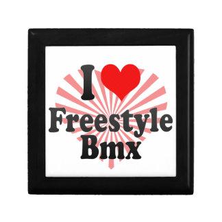 I love Freestyle Bmx Keepsake Box