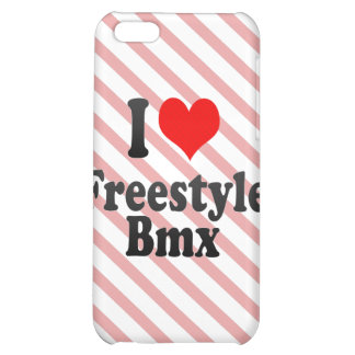I love Freestyle Bmx iPhone 5C Cover