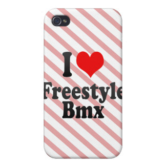 I love Freestyle Bmx iPhone 4 Covers