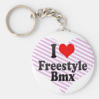 I love Freestyle Bmx Key Chains