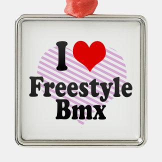 I love Freestyle Bmx Ornament