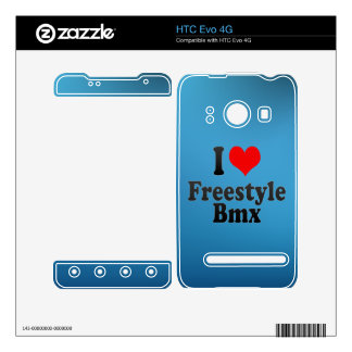 I love Freestyle Bmx Decal For The HTC Evo 4G