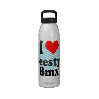 I love Freestyle Bmx Drinking Bottles