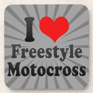 I love Freestyle Motocross Beverage Coasters