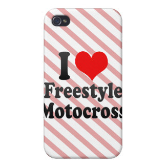 I love Freestyle Motocross Cases For iPhone 4