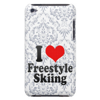 I love Freestyle Skiing Barely There iPod Case