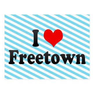 I Love Freetown, Sierra Leone Postcard