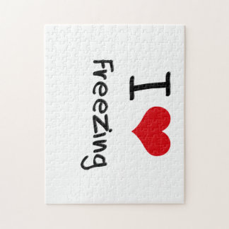 I Love Freezing Jigsaw Puzzle