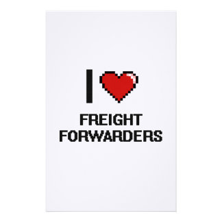 I love Freight Forwarders Stationery