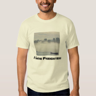 I Love Freighters. T-shirt