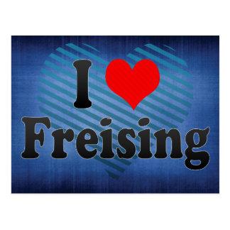 I Love Freising, Germany Postcard