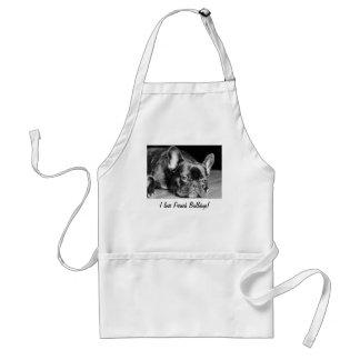 I love French Bulldogs!, Apron