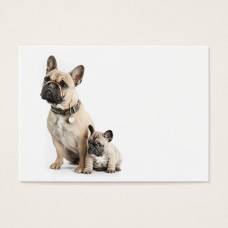 I love French Bulldogs Business Card