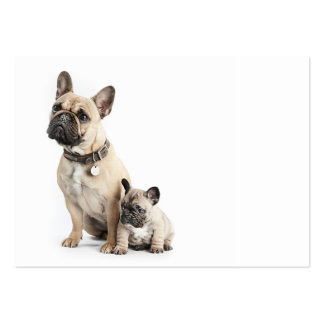 I love French Bulldogs Large Business Card