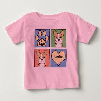 I Love French Bulldogs T Shirt