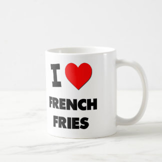 I Love French Fries ( Food ) Mugs