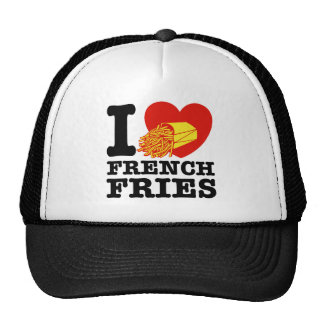 I Love French Fries Mesh Hat