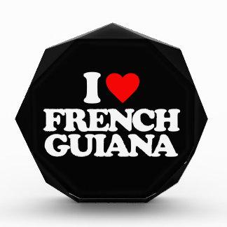 I LOVE FRENCH GUIANA AWARD