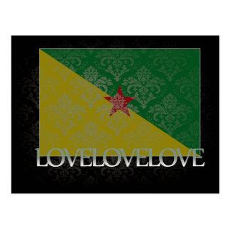 I love French Guiana Cool Postcard