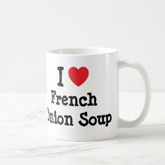 I love French Onion Soup heart T-Shirt Coffee Mug