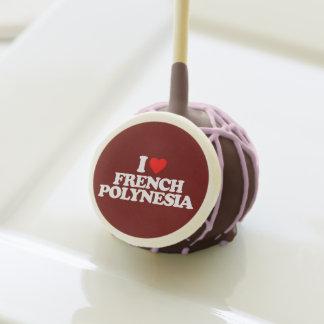 I LOVE FRENCH POLYNESIA CAKE POPS