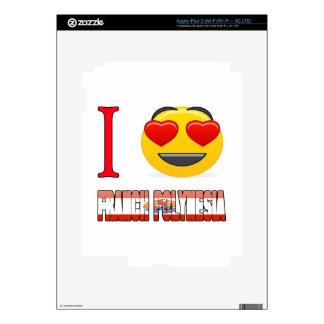 I love FRENCH POLYNESIA. iPad 3 Skins