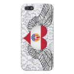 I Love French Polynesia -wings iPhone 5 Cover