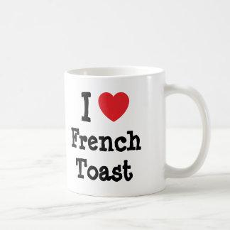 I love French Toast heart T-Shirt Classic White Coffee Mug