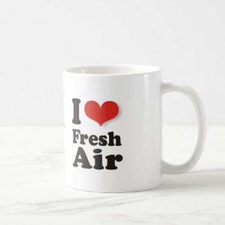 I Love Fresh Air Coffee Mug