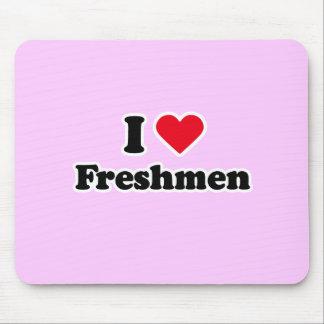 I love freshmen mouse pad