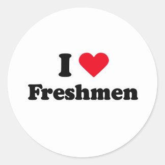 I love freshmen stickers